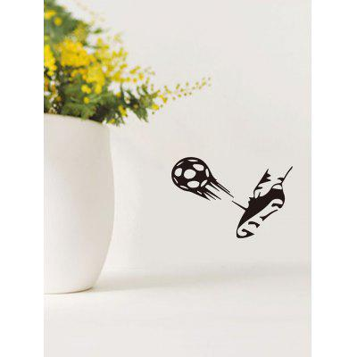 Kick Soccer Pattern Wall Stickers