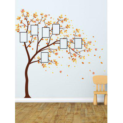 Photo Frame Tree Print Wall Art Stickers