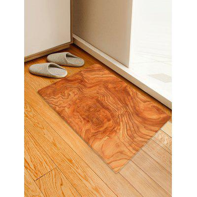 Tree Grain Pattern Water Absorption Area Rug