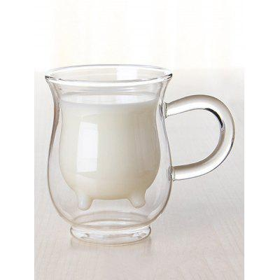 201 to 300ML Double Layer Milk Glass Cup