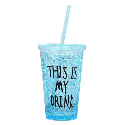 My Drink Print Plastic Ice Cup