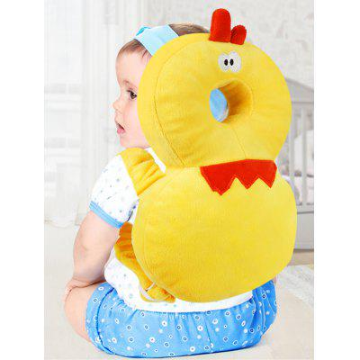 Cartoon Chick Shape Baby Head Protection Pad Toddler Anti-fall Pillow