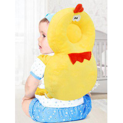 Cartoon Chick Shape Toddler Anti-fall Pillow Baby Head Protection Pad