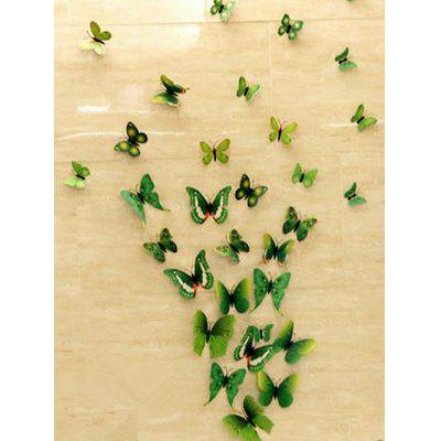 12 PCS Butterfly Design Wall Stickers