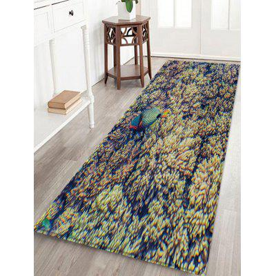 Polypite Fish Pattern Water Absorption Area Rug