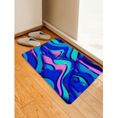 Colorful Abstract Pattern Water Absorption Area Rug