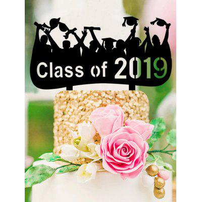 Class of 2019 Cake Sign Decoration