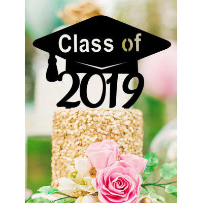 2019 Class Cake Sign Decoration