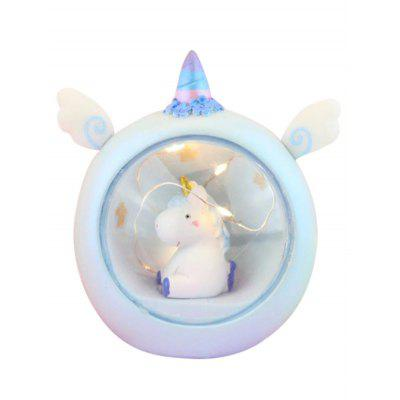 Notte a LED a tema Cartoon Unicorn