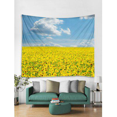 3D Print Sunflower Sky Wall Tapestry