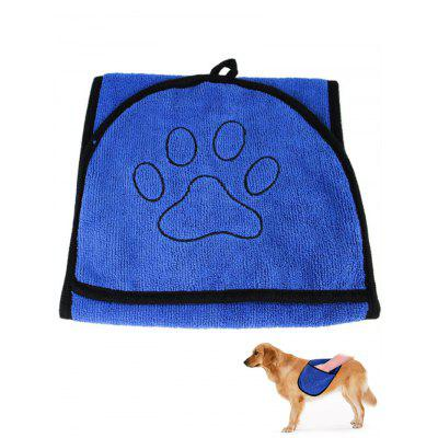 Double-sided Absorbent Pet Gloved Towel