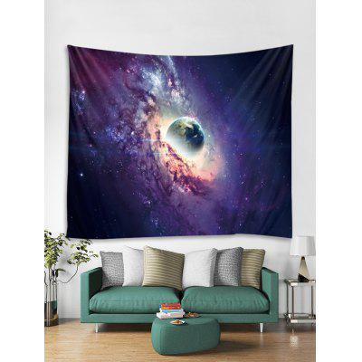 Galaxy Earth Print Tapestry Wall Hanging Decorazione Artistica