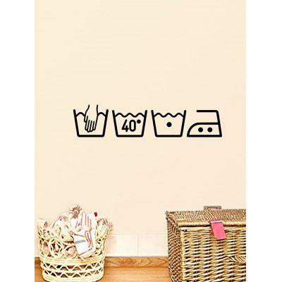 Tips Patterned Removable Wall Art Stickers