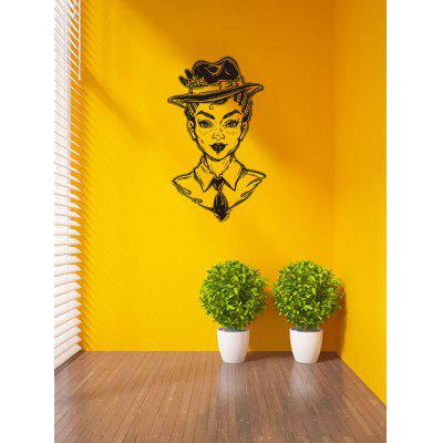 Character Print Removable Wall Art Stickers