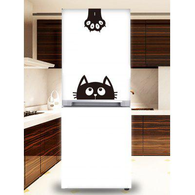 Cartoon Cat Claw Print Removable Wall Art Stickers