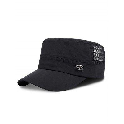 Number Adjustable Mesh Cadet Cap