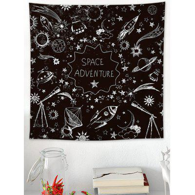 Space Adventure Print Tapestry Wall Hanging Art Decoration