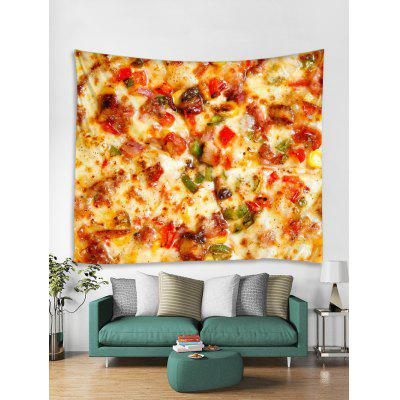 Pizza Pattern Design Wall Tapestry