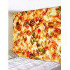 Pizza Pattern Design Wall Tapestry - MULTI