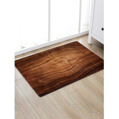 Home Decoration Wood Grain Anti-Slip Rug