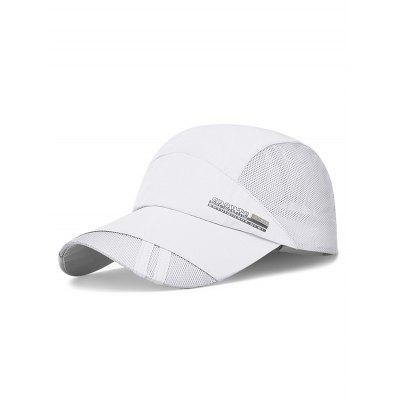 Quick Dry Letter Sports Baseball Cap