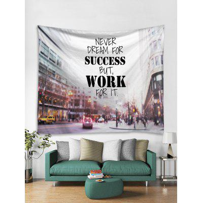 Letter Street Printed Wall Tapestry