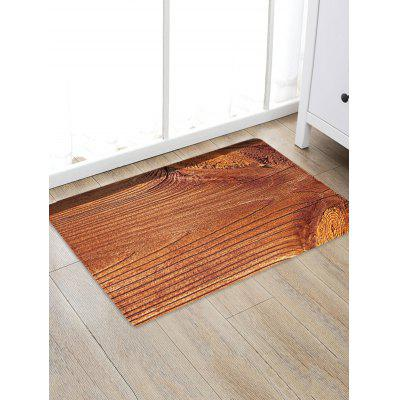 Wood Grain Patterned Water Absorption Area Rug