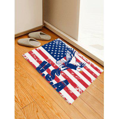 American Flag USA Printed Decoration Floor Mat