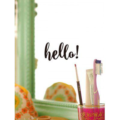 Hello Print Removable Wall Art Stickers