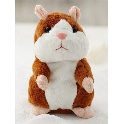 Talking Sound Record Hamster Plush Toy