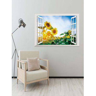 Sunflower Pattern Decoration Wall Sticker