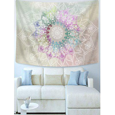 Colorful Flowers Printed Tapestry Wall Hanging Art Decoration