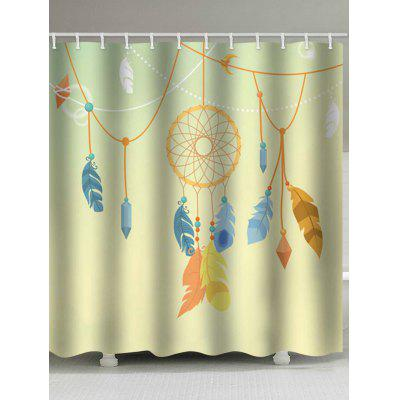Dreamcatcher Print Bohemian Shower Curtain