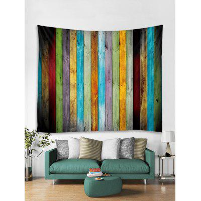 Colorful Plank Print Art Decoration Wall Tapestry