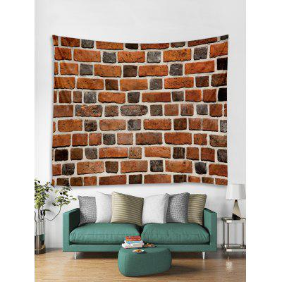 Brick Wall Print Art Decoration Wall Tapestry