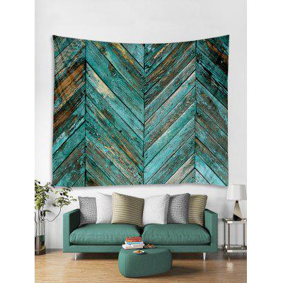 Old Plank Wall Print Art Decoration Wall Tapestry