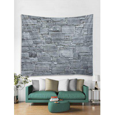 Stone Wall Print Art Decoration Wall Tapestry