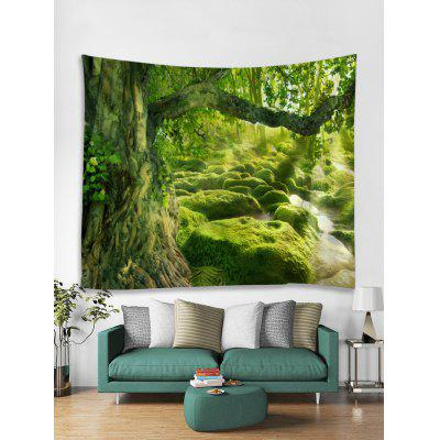 Forest Path Print Art Decoration Wall Tapestry