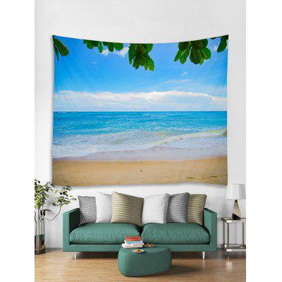 Sea Beach Sky 3D Print Wall Tapestry