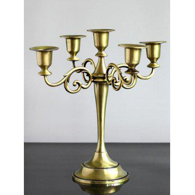 Home Decoration Alloy Candlestick