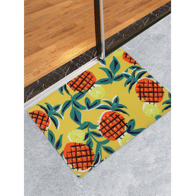 Pineapple Pattern Water Absorption Area Rug