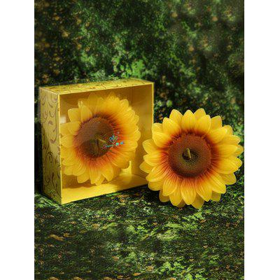 Sunflower Shape Decorative Candle
