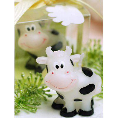 Milk Cow Shape Decorative Candle