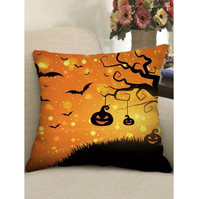 Square Halloween Gothic Pillow