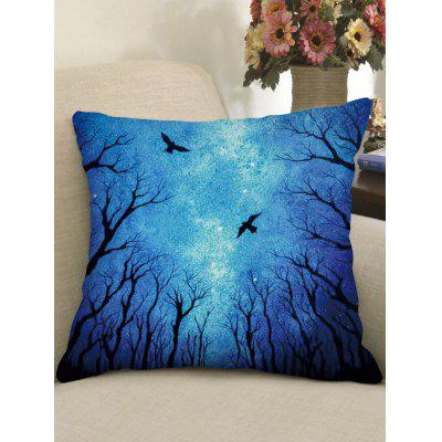 Halloween Print Gothic Style Decorative Pillow