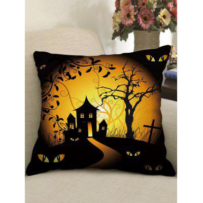 Halloween Theme Patterned Decorative Pillowcase