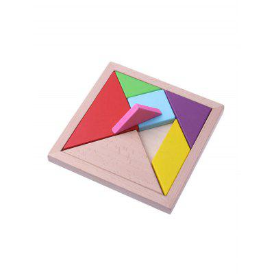 Educational Toys Wooden Puzzle Tangram