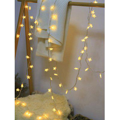 Christmas Star Shape Decorative LED String Lights