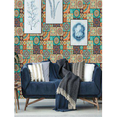 Bohême Plaid Imprimer décorative Wall Art Sticker