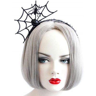 Halloween Party Cosplay Spider Web Shape Hair Band
